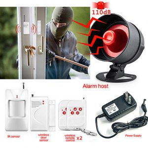 Unmonitored Burglar Alarms