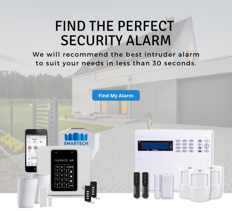 smart alarm system for home protection