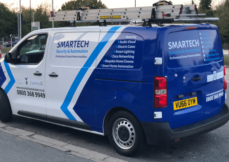 Smartech Security Installer  in Yateley