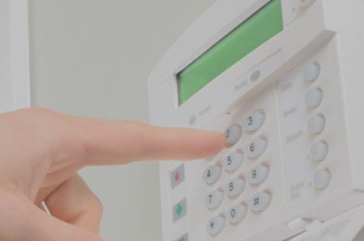 Burglar alarm service
