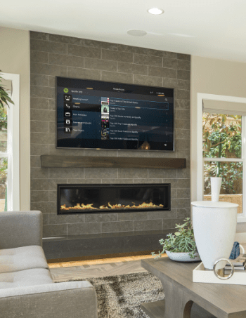 AV installation, home cinema and smart multiroom speakers and tv