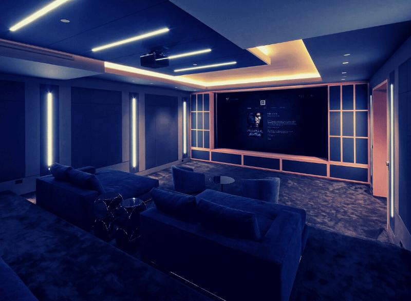 Control4 bespoke home cinema