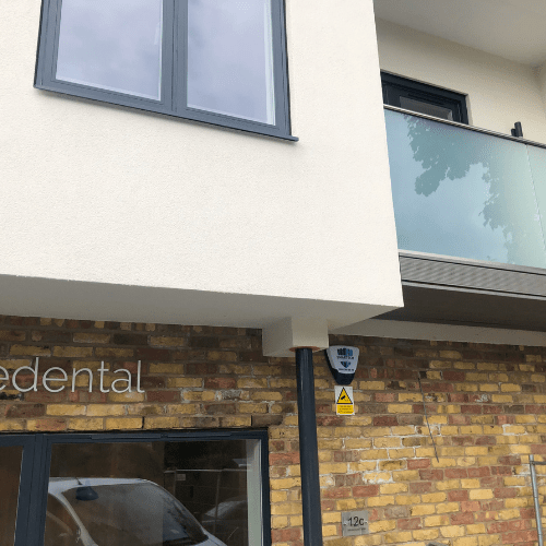 Installation of Burglar Alarms, CCTV and Intercom in Camberley Dental Clinic, Kew, Richmond
