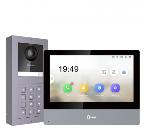 Hikvision Modular Video Door Entry System with Touchscreen display | Smartech