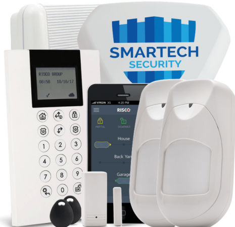 Risco Agility 4 Wireless Smart Alarm Installed | Smartech Security