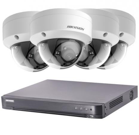 4 Outdoor 2MP Dome Camera & DVR 20m Night Vision | Smartech