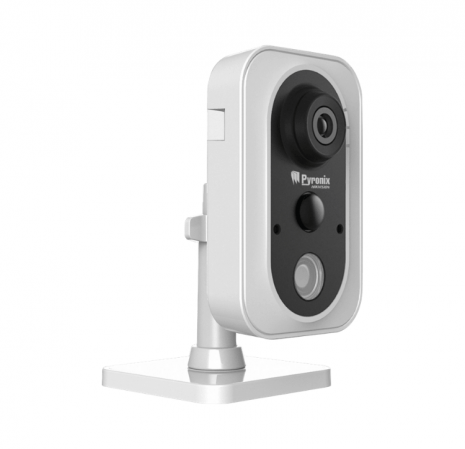 IP camera for self monitored burglar alarms