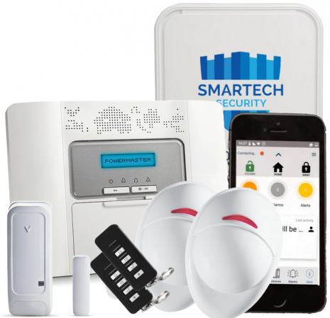 Smartech | Visonic Powermaster 30 Alarm with Camera Sensor App Fitted