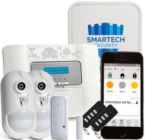 Visonic Powermaster 30 Smart Alarm With Camera Sensor | Smartech