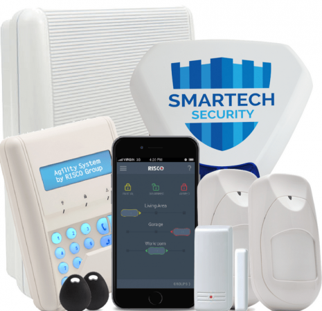 Risco Agility3 Wireless Smart Alarm Installed | Smartech Security