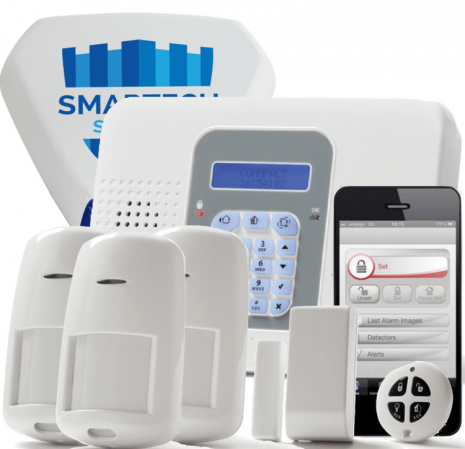 SecuPlace Wireless Smart Alarm - Commpact | Smartech