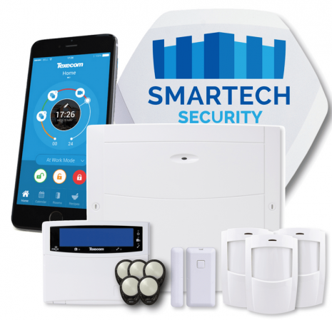 Texecom Elite Riccohet Smart Alarm System Installed | Smartech