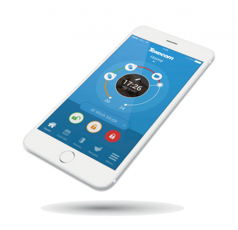Remote controlling of burglar alarm with your Smart phone App