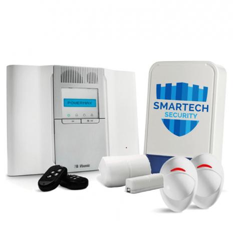 Smartech   Visonic Burglar Alarm Service by Certified Alarm Installers