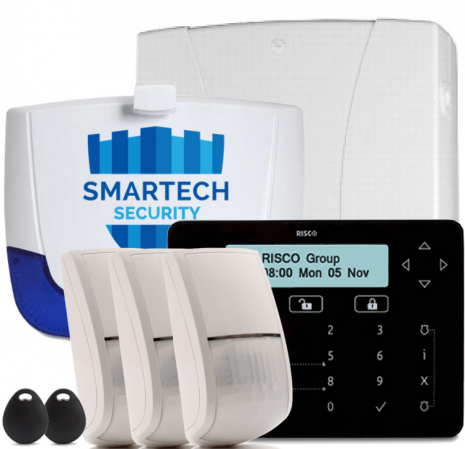 Risco LightSys2 Wired Intruder Alarm System Installed | Smartech