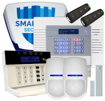 Pyronix Enforcer Wireless Burglar Alarm with GSM Dialler Installed