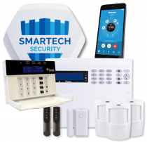 Texecom  Wireless Burglar Alarm with Installation - GSM Speech Dialler