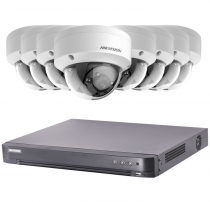 Fitted 8 Outdoor 2MP Hikvision CCTV System