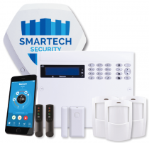 Texecom Wireless Alarm with Installation - Smartkey Pack