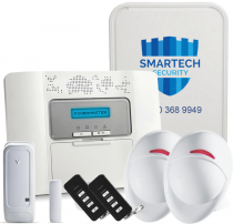 Fitted Visonic Powermaster 30 Wireless Alarm