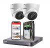 2 Hikvision 5MP HD Analogue Security Camera System With Installation