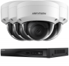 4 Fitted Outdoor 2MP Hikvision HD IP CCTV System