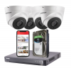4 Hikvision 5MP HD Analogue CCTV Security Camera System With Installation