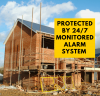 Image Verified Security Alarm For Building Site